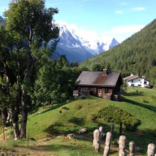 Chalet near Argentiere