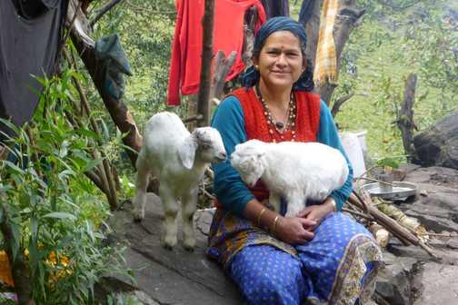 Lady at Bodgwar