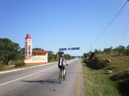 Approaching Trinidad