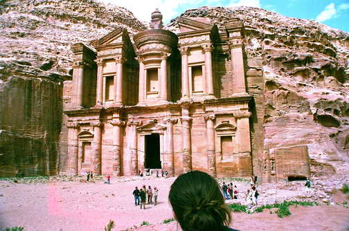 The other temple at Petra