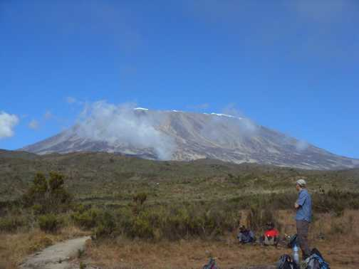 Kili from Camp 1