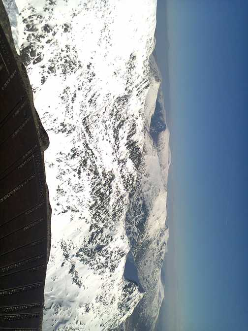 Sunny Snowdonia from Snowdon summit