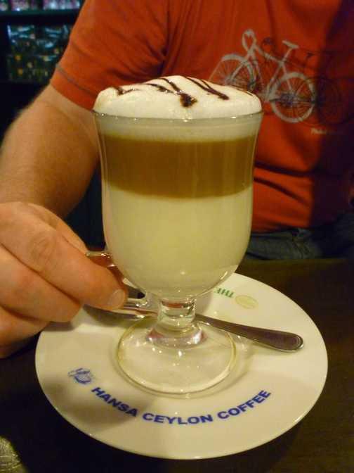 Luxury coffee Lanka style!