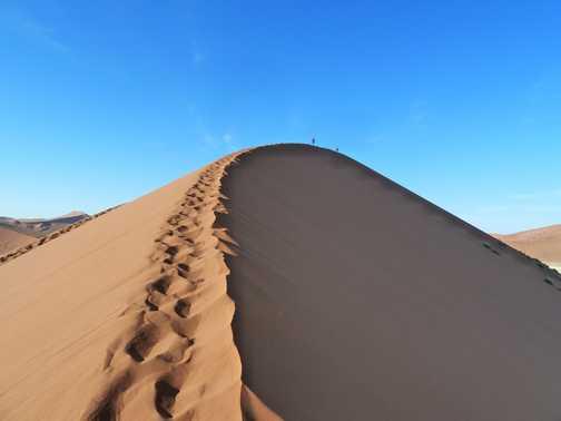Dune 45 at 0630 ...
