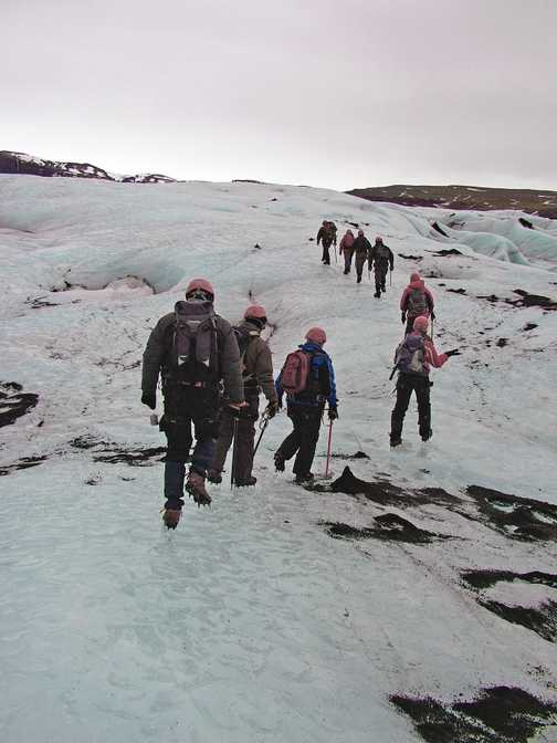 'Carry on up the Glacier'