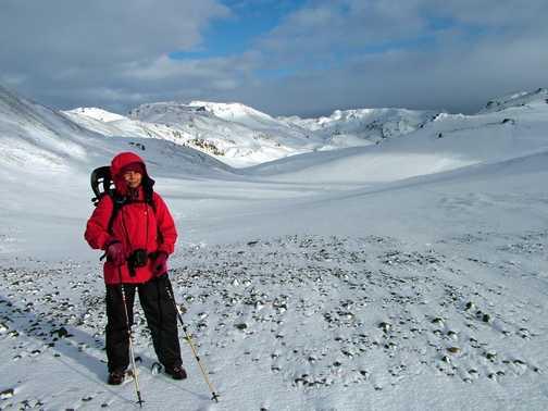 Ascending Mount Hekla 1,491 metres (4,892 ft) - Highest active volcano in Iceland
