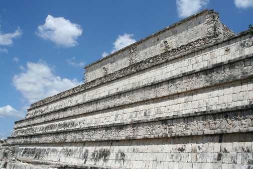 Temple of the Warriors, Chichén itzá