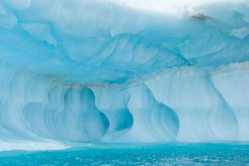 Blue Iceberg Patterns