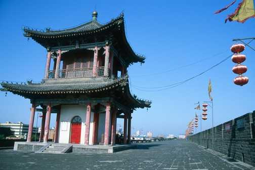 The city walls, Xi'an