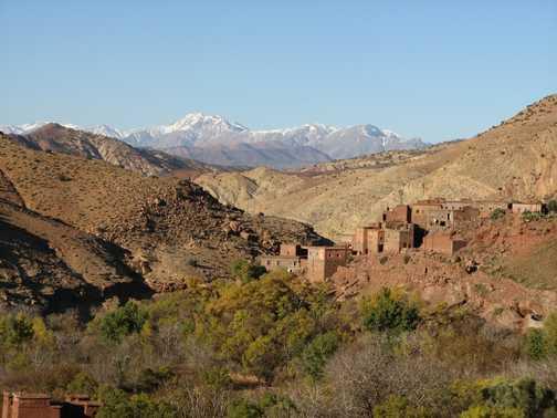 Tijhza Valley, High Atlas