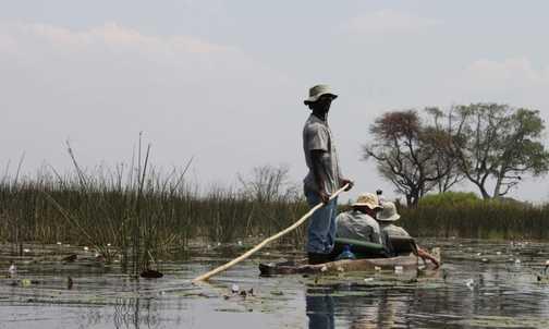 Mokoros on the Delta