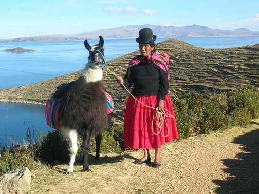 Sun Island - local woman