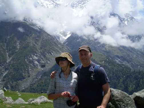 the 2 of us at 3200m
