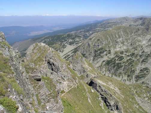 View from Summit of Mt. Malyovitsa