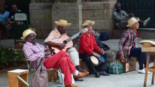 Chilling in Havana