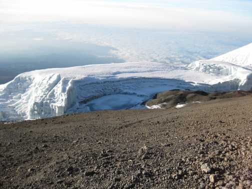 Mount Meru from Uhuru Peak