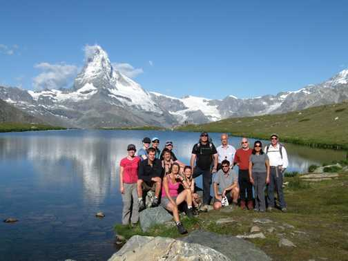 Our great group taken by our guide Sean
