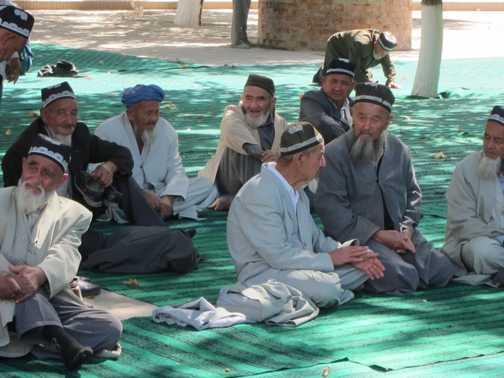 Visit to the Friday Mosque in Shakhrisabz, Uzbekistan