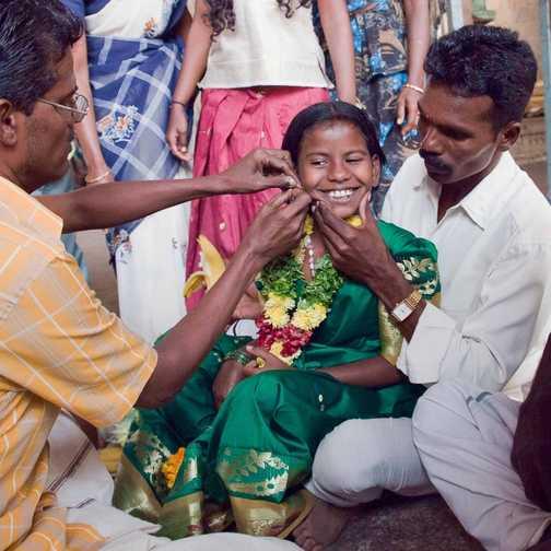 Ear Piercing ceromony, Madurai Temple