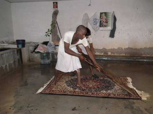 carpet making in Jaipur