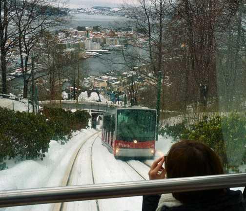 Bergen mountain railway