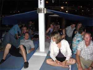 Evening boat trip