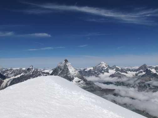 Breithorn summit