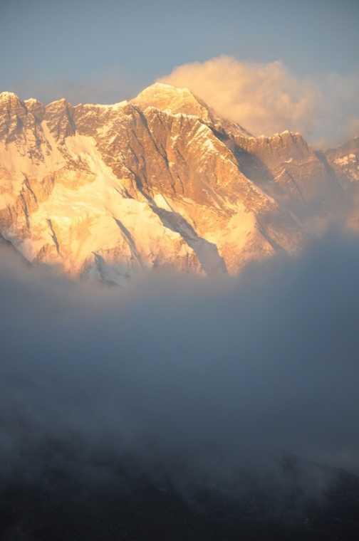 Sunset on Everest