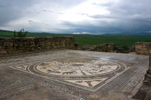 Storm approaching Volubilis