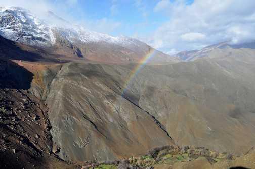 Rainbow at the Tichka pass