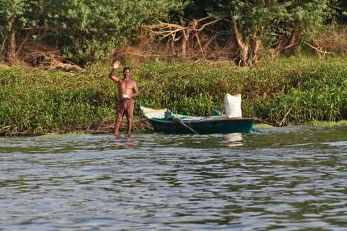 Locals on the Nile