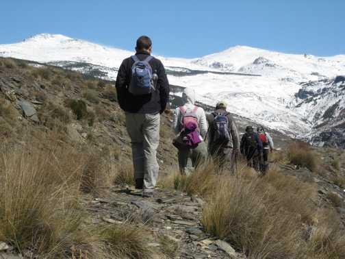 Snowbound - Berchules valley