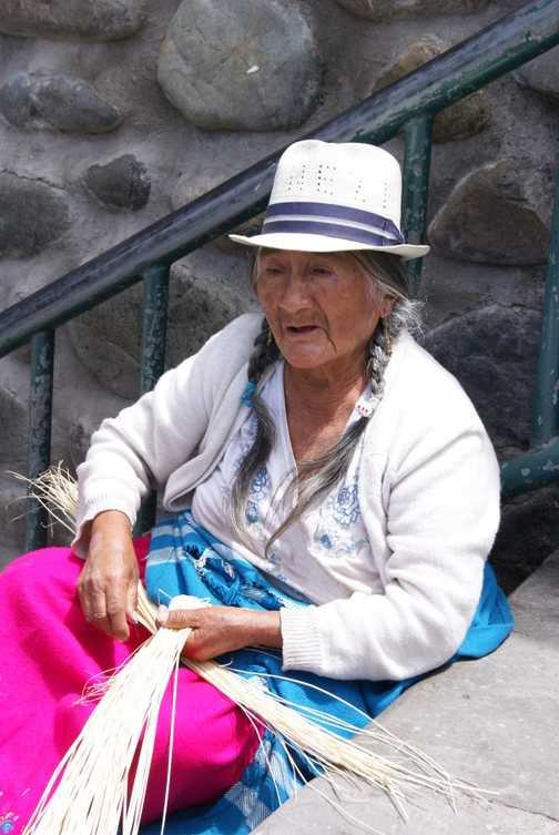 Cuenca hat maker
