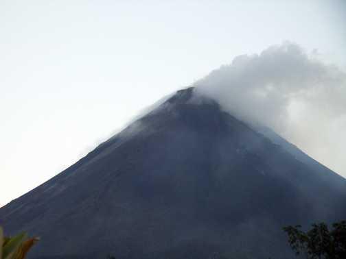 Erupting Arenal