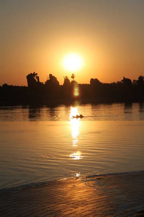 Sunset at Luxor
