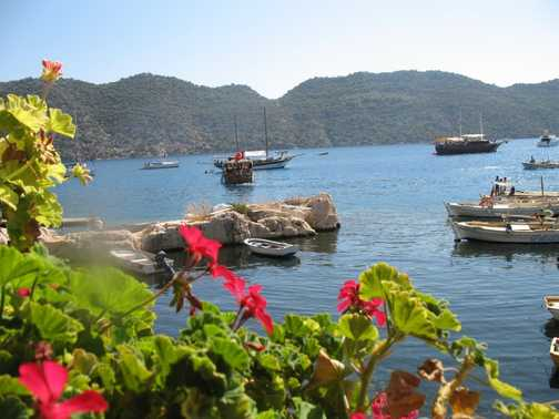 lycian coastal view