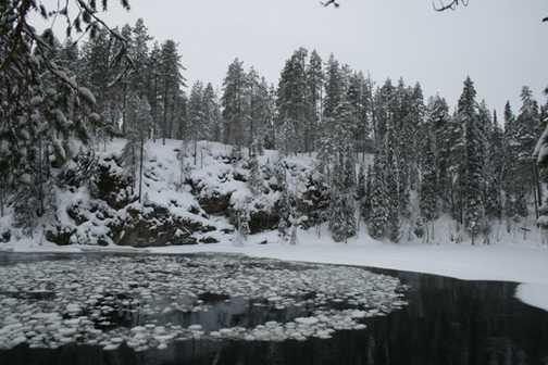 Freezing River