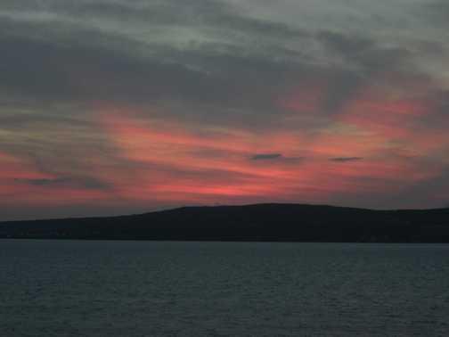 Sunset over Novigrad