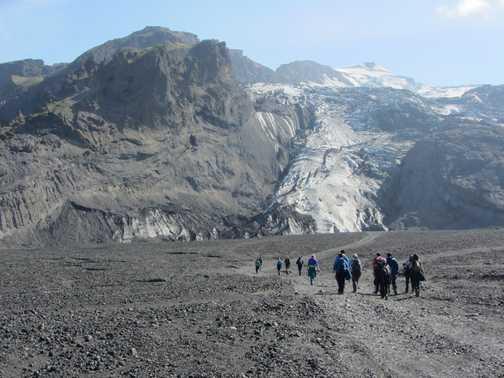 Falljokull Glacier