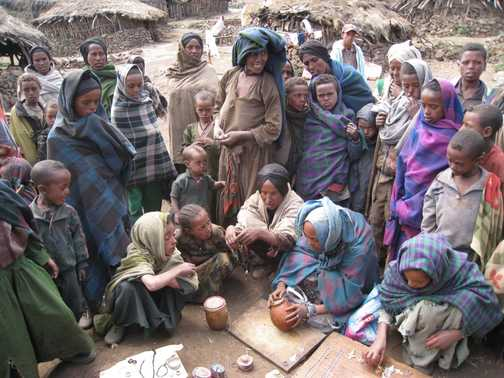 Villagers at Arkwasiye