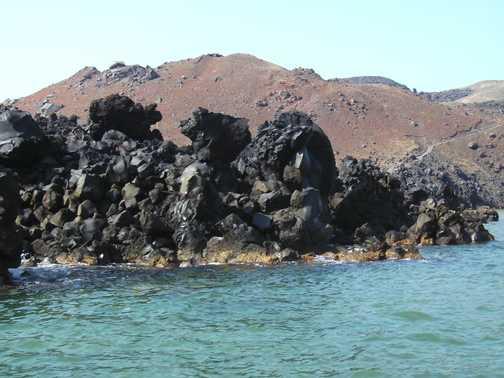 Volcanic Rocks on Nea Kameni