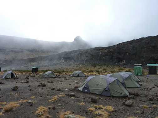 Moir Hut Camp