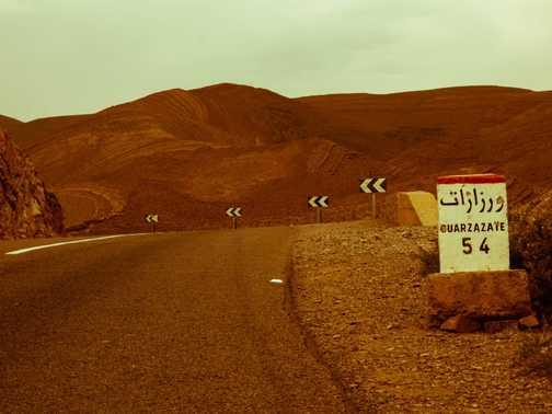 Road to Quarzazate