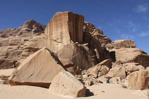 Big Rock  Wadi Rum