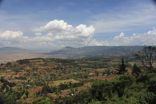 Rift Valley - just out of Nairobi