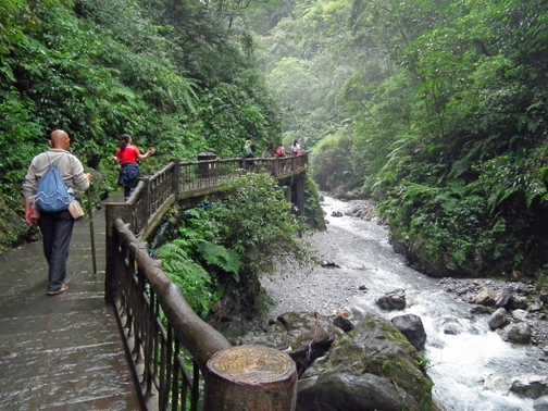 gorge, Mt Emei