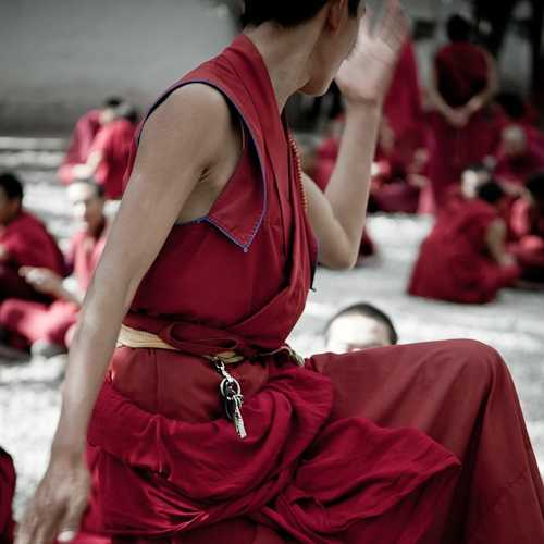 Debating Monks at Sera Monastery