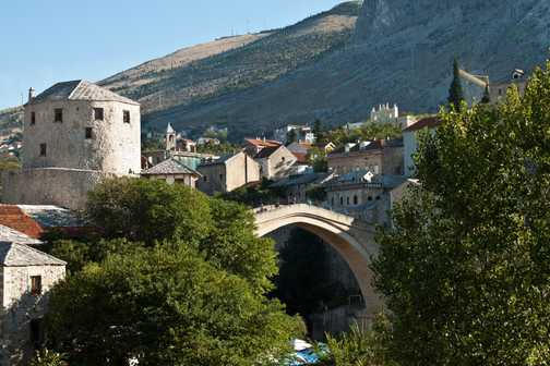 Stari Most in daylight