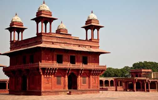 The strong Agra Fort