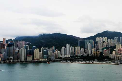 Hong Kong Harbour - Looking towards Central